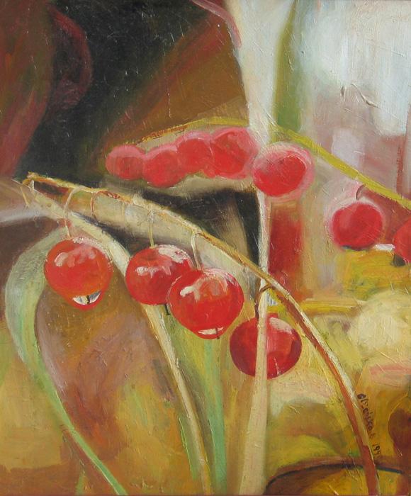 1. Wonderful Years Series, oil on canvas, 50x40 cm